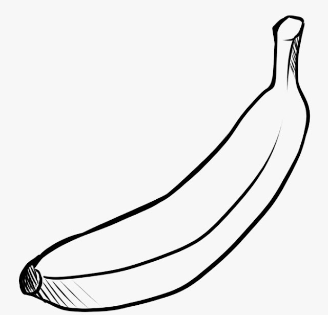 Mewarnai Sketsa Gambar Buah-buahan