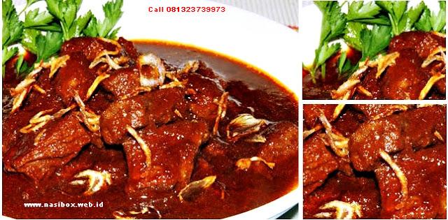 Resep daging sapi bumbu kecap manis nasi box walini ciwidey