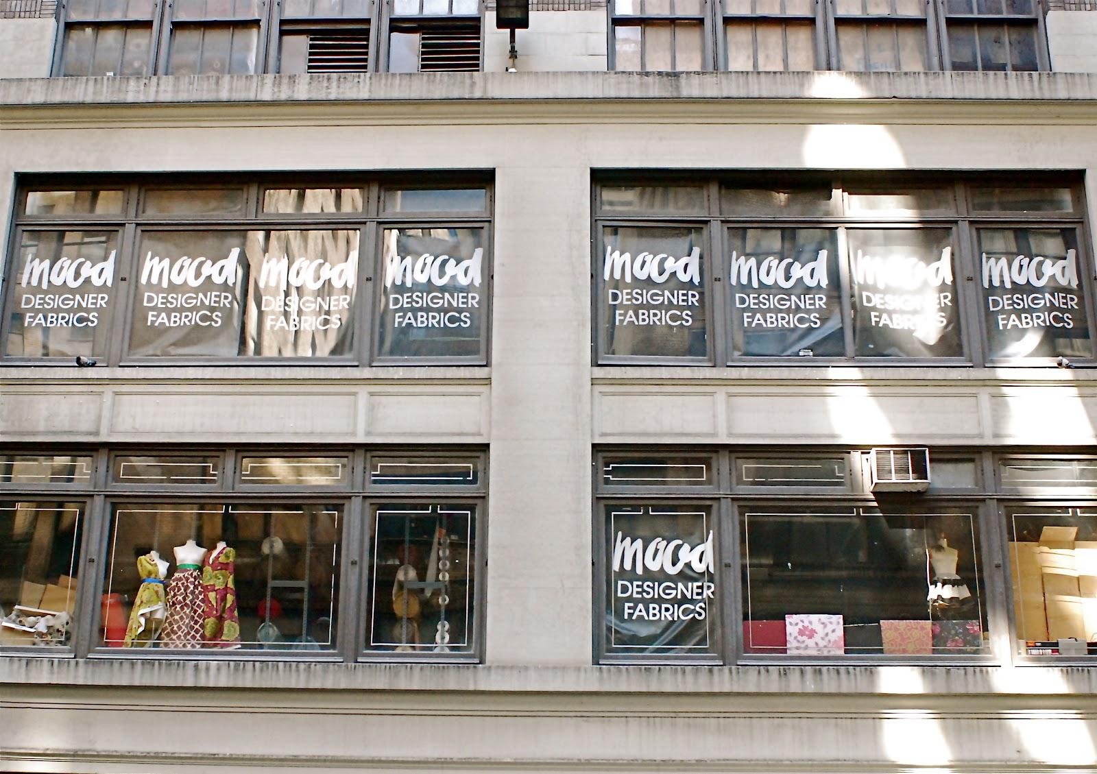 NYC ♥ NYC: Mood Designer Fabrics