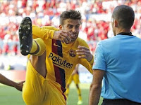Gerard Pique Causes Barcelona to Achieve Bad Results