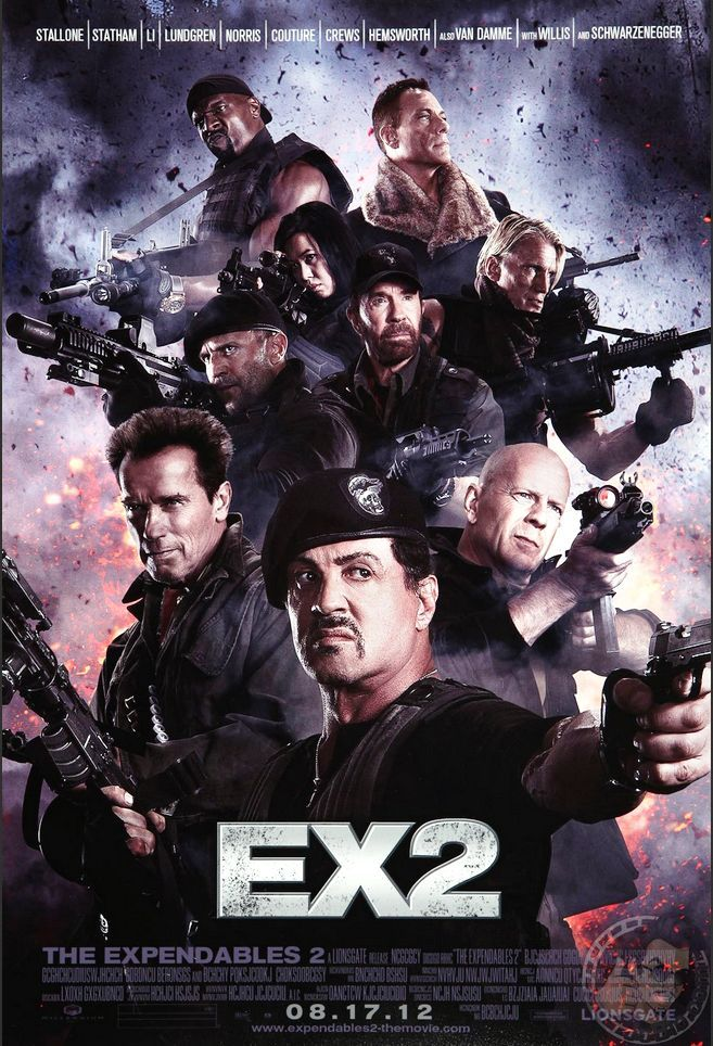 The Expendables 2 2012 Full Movie In Hindi 720p Bluray 855 MB Download