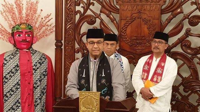 Gubernur DKI Sampaikan UMP Jakarta 2020 Sebesar Rp 4,2 Juta