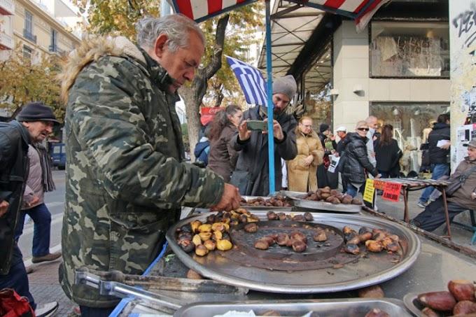 Θεσσαλονίκη: 106.050 ευρώ πρόστιμο στον καστανά της πλατείας Αριστοτέλους