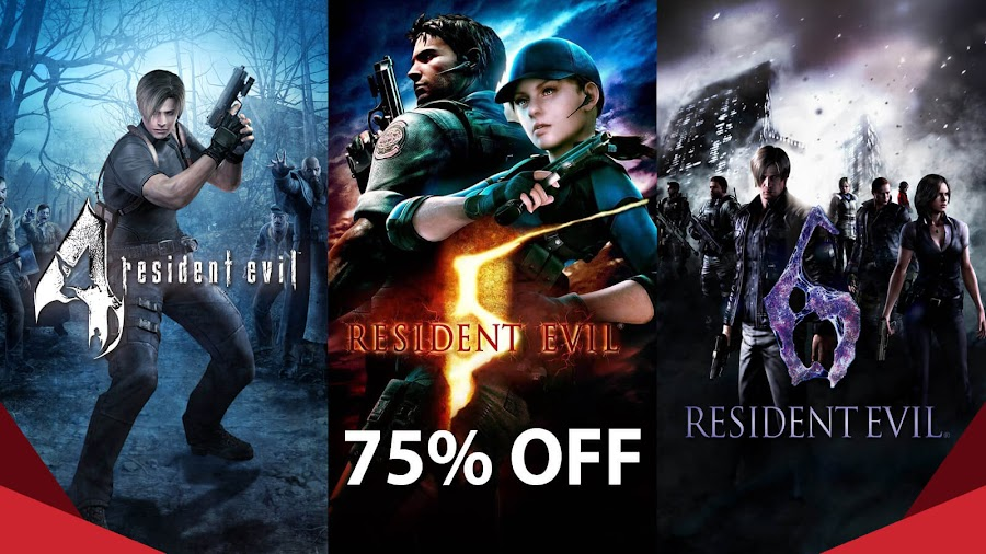 resident evil 4 5 6 humble bundle