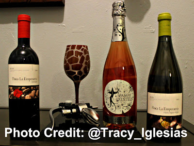 Camps D'Estels Cava Brut Rosé, Vias Wine, Vias Wines, Vias Imports, Finca La Emperatriz Viura Cepas Viejas 2012 (RIOJA), Finca La Emperatriz Terruño 2010 (RIOJA)