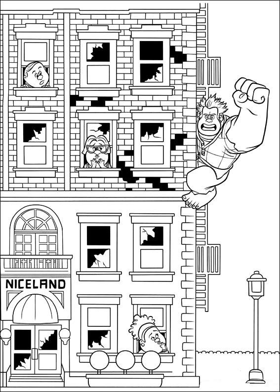"Disney Soul: Dibujos para colorear de ""¡Rompe Ralph!"""