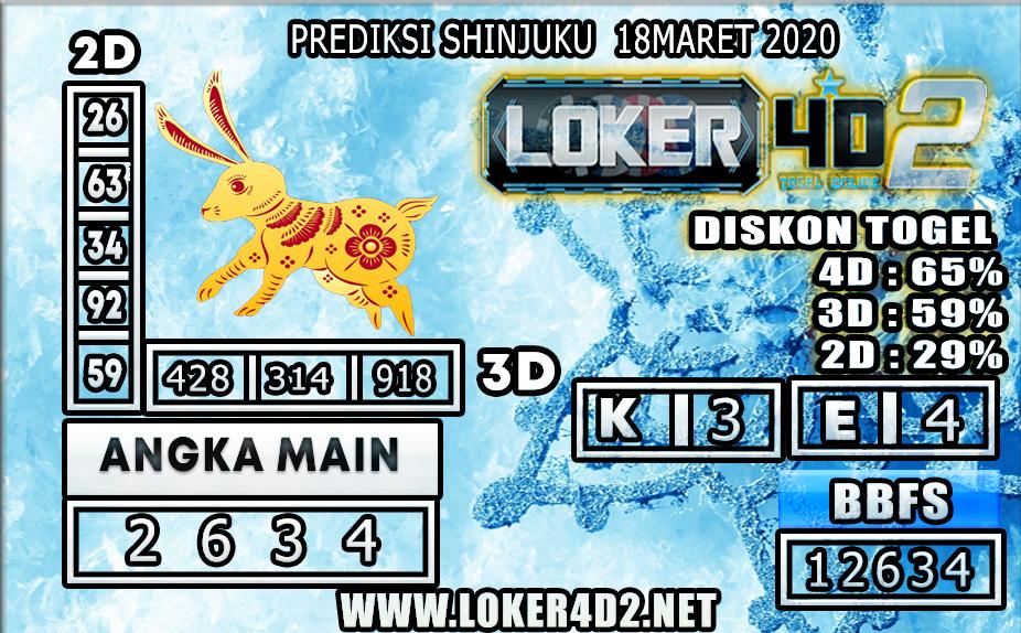 PREDIKSI TOGEL SHINJUKU LUCKY 7  LOKER4D2 18 MARET 2020