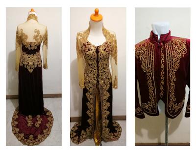 Sewa Baju Pengantin Modern Muslimah Murah Jakarta