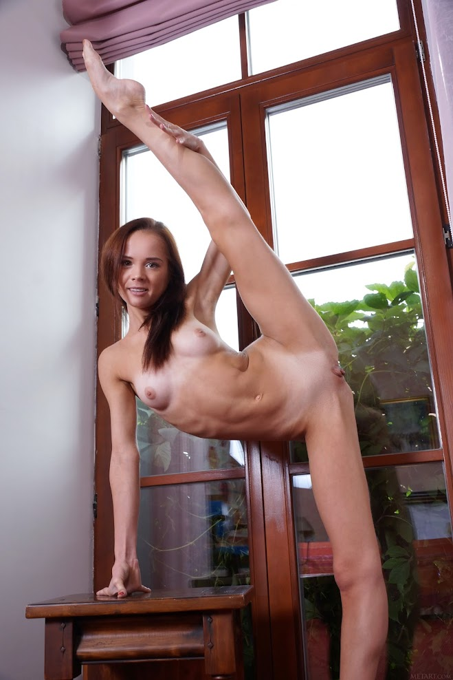 title2:MetArt Matilda Bae Ballet Stretch