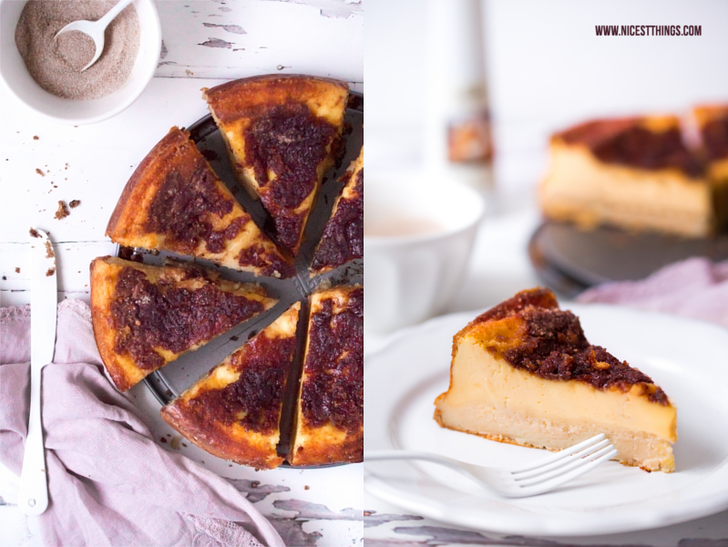Rezept für Pfälzer Rahmkuchen mit Zimt Karamell Kruste