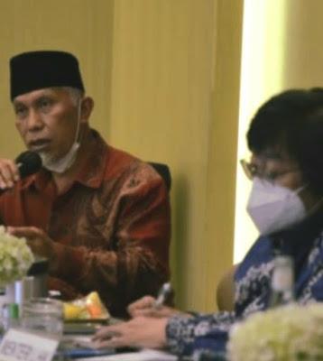 Sampaikan Kerusakan Hutan Akibat Pembalakan Liar, Gubenur dan Kapolda Sumbar Temui Menteri LHK.