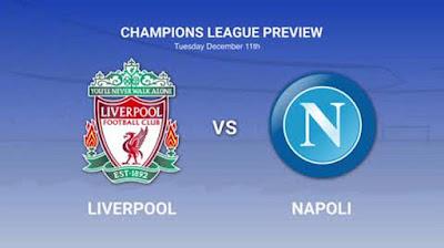 بث مباشر مشاهدة مباراة ليفربول ونابولي اليوم
