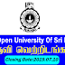 Vacancy In The Open University Of Sri Lanka