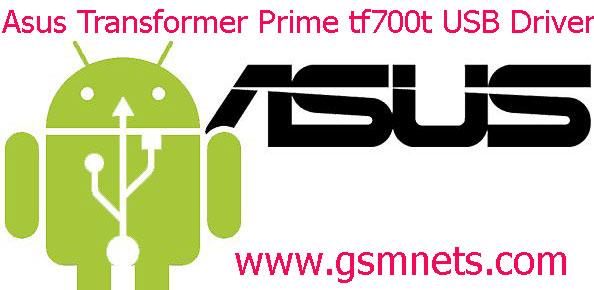 Asus Transformer Prime tf700t USB Driver Download