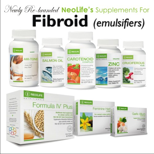 Fibroid Emulsifying Supplements