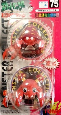 Paras Pokemon figure Tomy Monster Collection series
