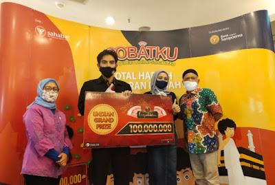 Undian Grand Prize Sobatku Berhadiah Umroh dan Uang Tunai