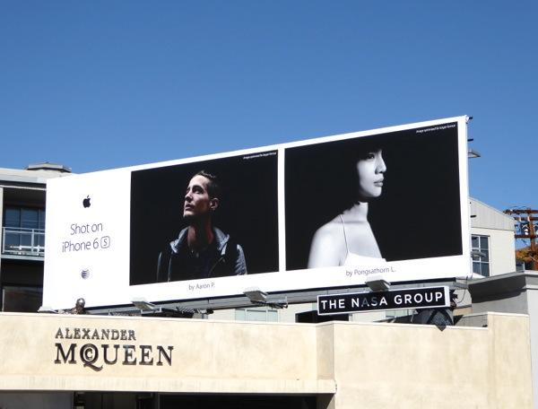 iPhone 6s Aaron P Pongsathorn L billboard