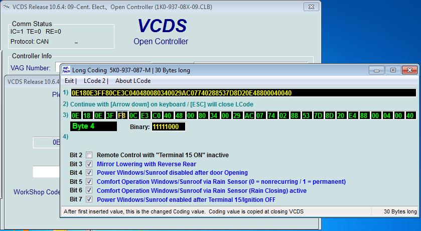Vag Com Mod`s for MKV MKVI | Vw Surf