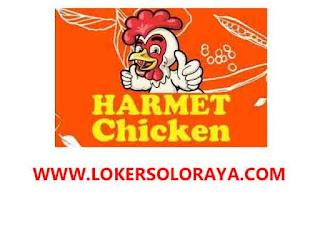Loker Solo Agustus 2020 di Rumah Makan Harmet Chicken Outlet Yosodipuro