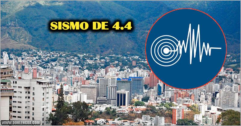 LAS SIETE PLAGAS   Temblor de 4.4 se sintió esta mañana en Caracas