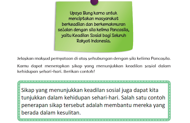 Kunci Jawaban Tema 5 Kelas 4 Halaman 91