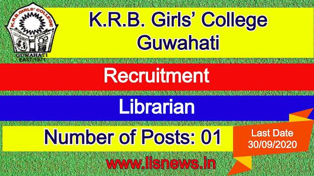 Librarian at K.R.B. Girls' College, Guwahati