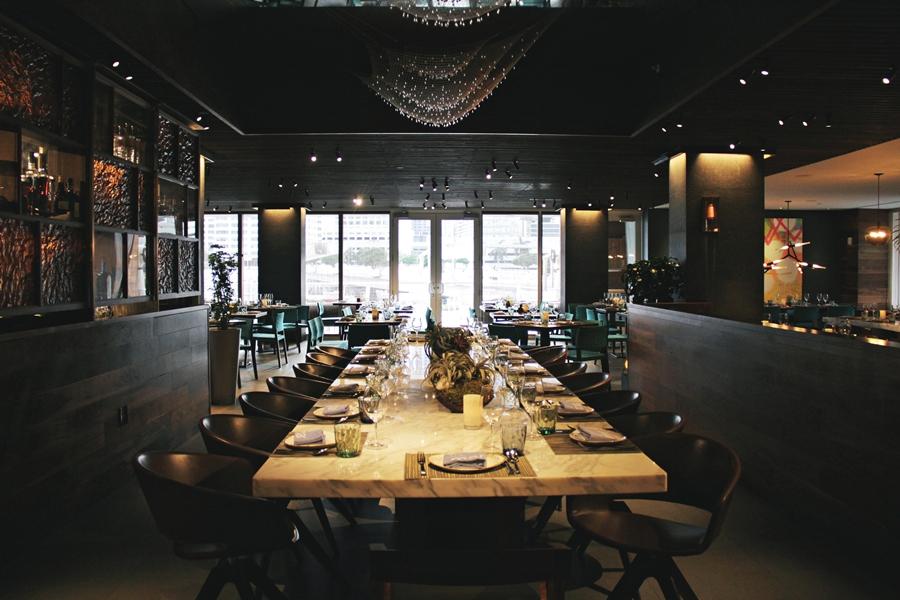 dinner la mar miami restaurant hotel luxury kitchen