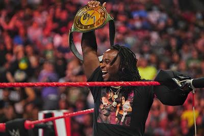 R-Truth Reginald WWE Title 24/7 Hardcore