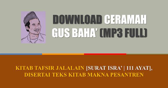 mp3 gus baha tafsir jalalain pdf makna pesantren download full