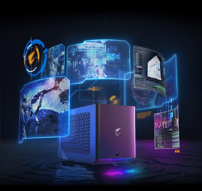 Gaming Box Sangar dari Gigabyte Aorus, Aorus RTX 2080ti Gaming Box