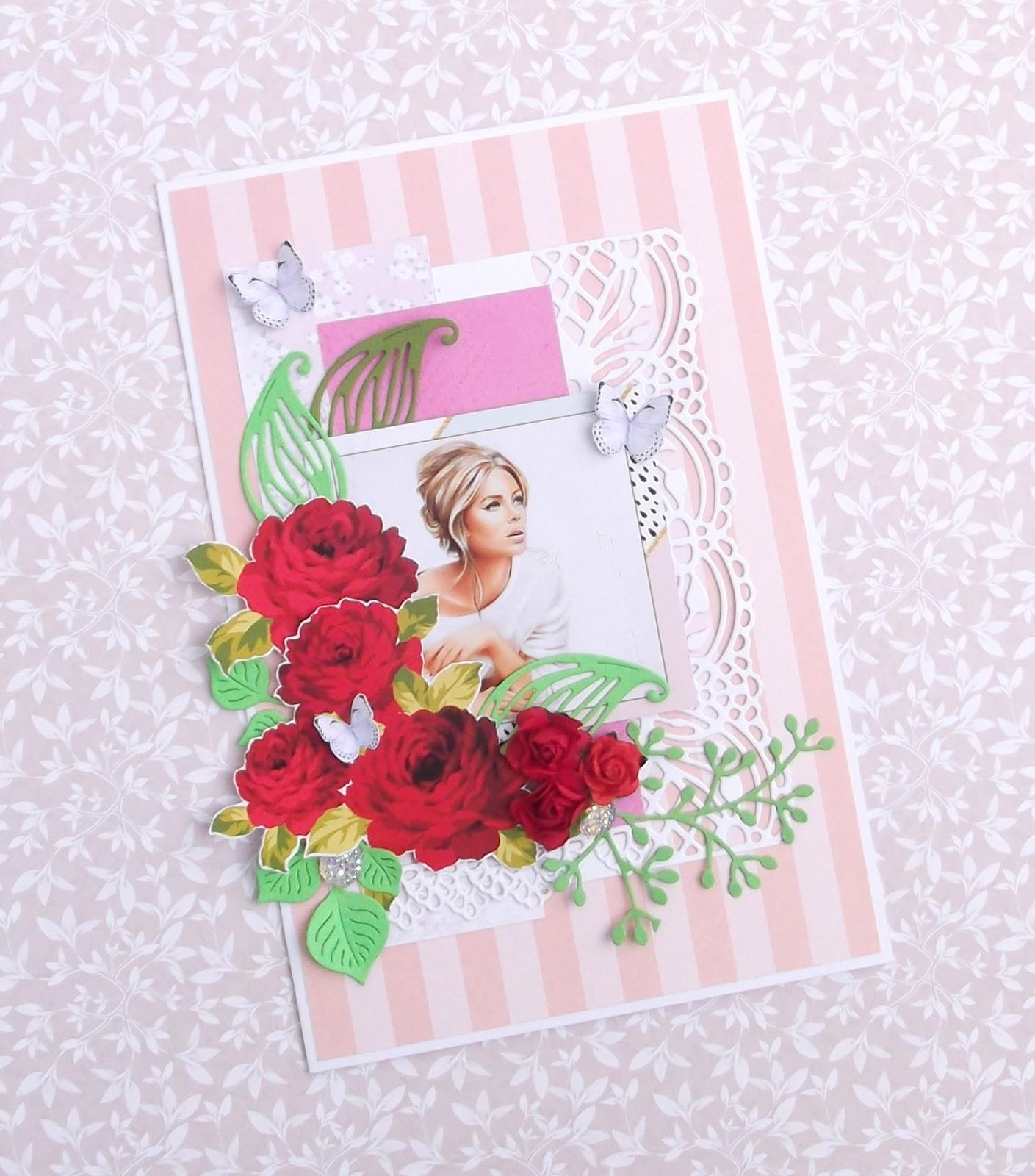 Создай открытку для девушки