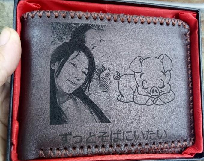 #09 Horizontal Wallet (brown - big thread)