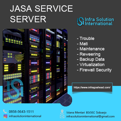 Service Server Bandar Lampung