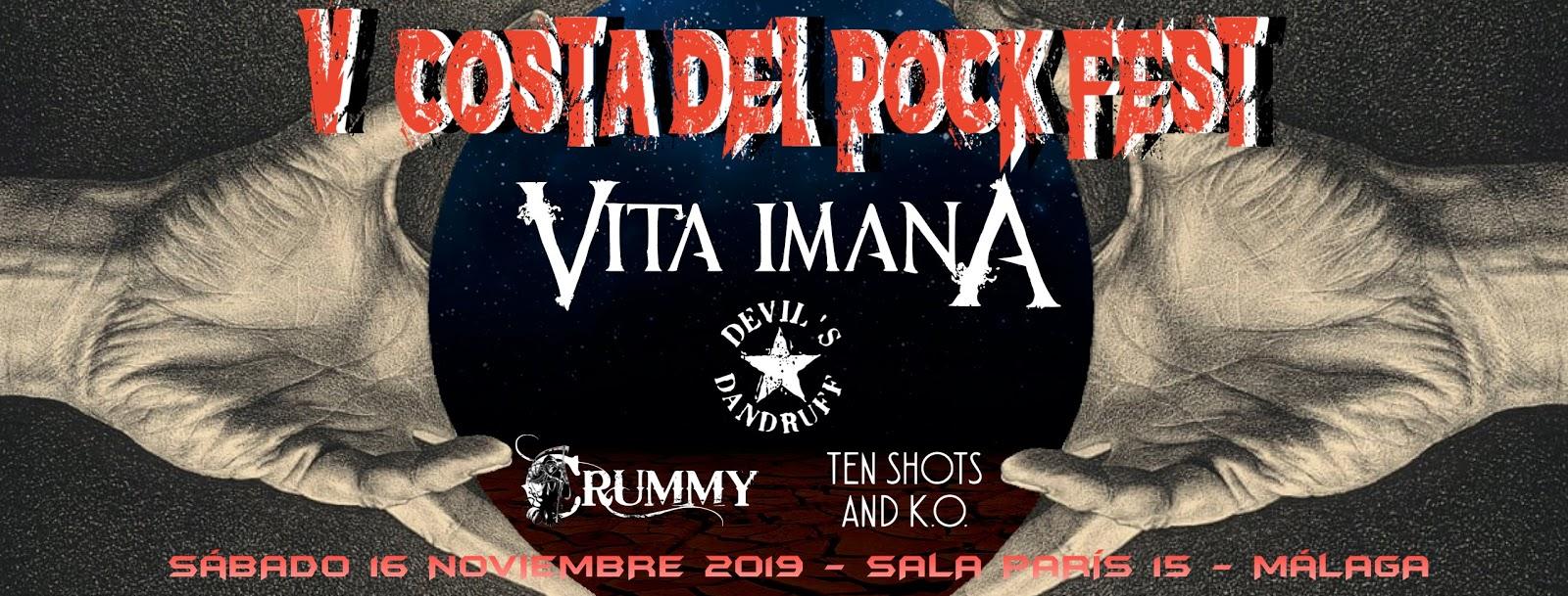 V Costa del rock Fest Header