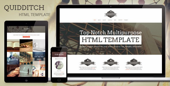 Premium One Page HTML Template