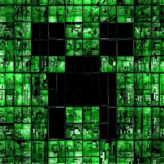 Minecraft Creeper Vert - Avatar en HD