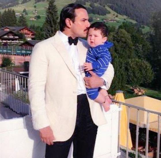 Gambar Anak Kareena Kapoor, Taimur Ali Khan