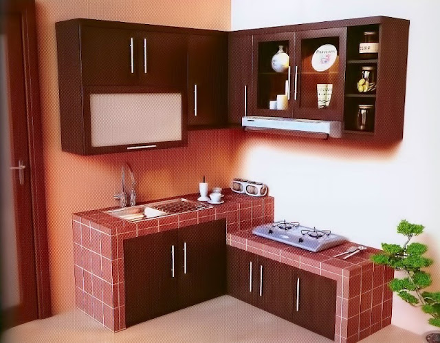 Model Kitchen Set Minimalis Dapur Sempit