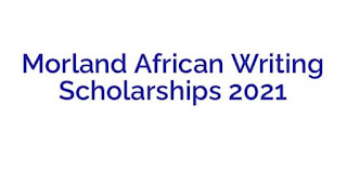 Miles Morland Foundation Writing Scholarship 2021