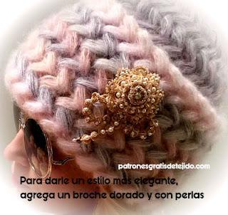 patrones-gorro-crochet-punto-puff