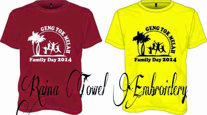 Design Logo Baju Family Day