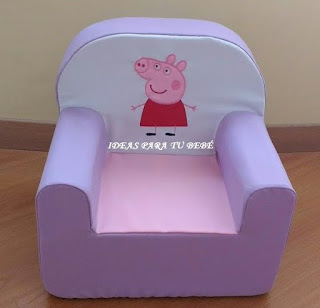 sillon peppa pig