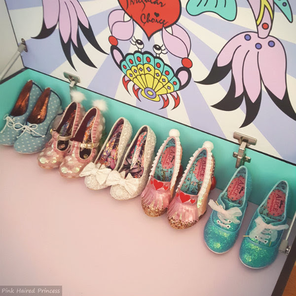 irregular choice mermaid storage chest shoe row inside