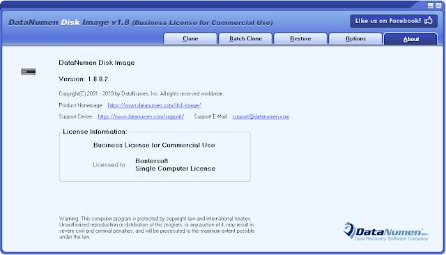 Screenshot DataNumen Disk Image 1.8.0.2 Full Version