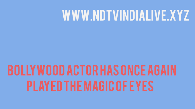 Bollywood actor has once again played the magic of eyes
