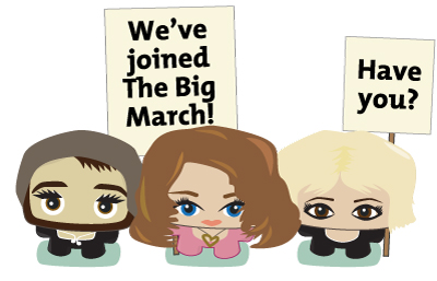 We've Joined The Big March - Have You?