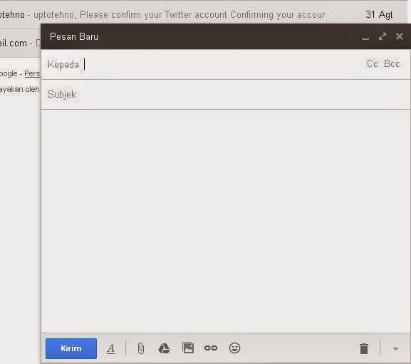 cara mengirim email lewat gmail