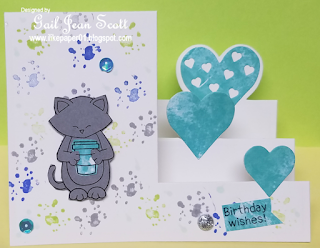 Birthday Wishes by Gail features Newton Loves Coffee by Newton's Nook Designs; #newtonsnook