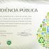 AUDIÊNCIA PÚBLICA DO PROCESSO DE OUTORGA DE CONCESSÃO POR PARCERIA PÚBLICA PRIVADA - PPP.